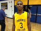 Gif 5-foot-10 freshman point guard Brandon Brown finished with a team-high 28 points and 4 assists for Phoenix College in Thursday night's exciting victory over previous undefeated Arizona Western JC. Brown is among the elite freshman prospects in the ACCAC this season.
