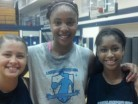 A trio of 2015 studs (pictured from left to right), Desert Vista HS 5-foot-9 junior guard Sabrina Haines, Desert Vista HS 6-foot-4 junior post Kristine Anigwe and Mesa Mountain View HS 5-foot-10 junior guard Armani Hawkins continue to lead the way in our new player rankings for Arizona's 2015 class of girls prospects in the state.