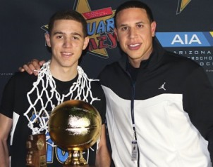 Michael Bibby Jr. & Mike Bibby Championship Profile 405x300